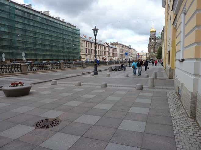 Тротуары в столице Росссии стали гораздо просторнее