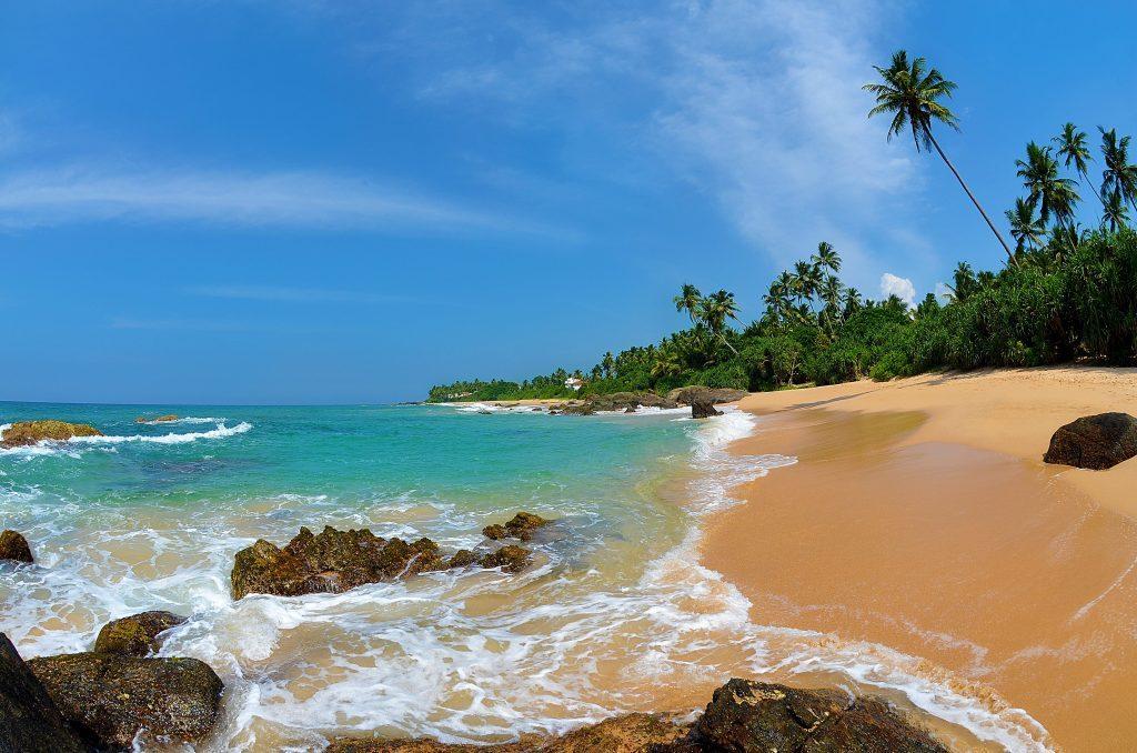 Побережье на острове Шри-Ланка