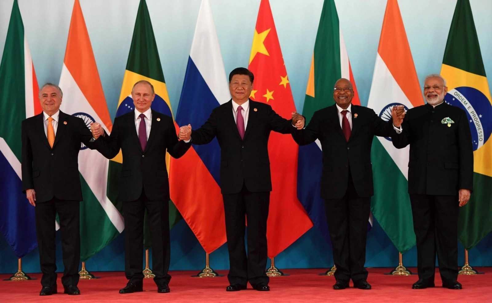 Все лидеры стран, входящих в БРИКС