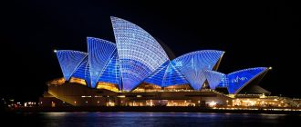 Сиднейский оперный театр в Сиднее