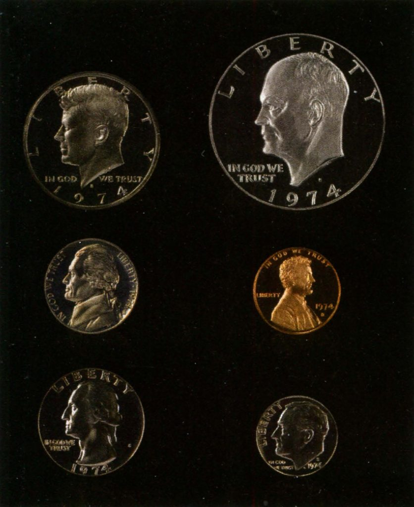монеты качества пруф