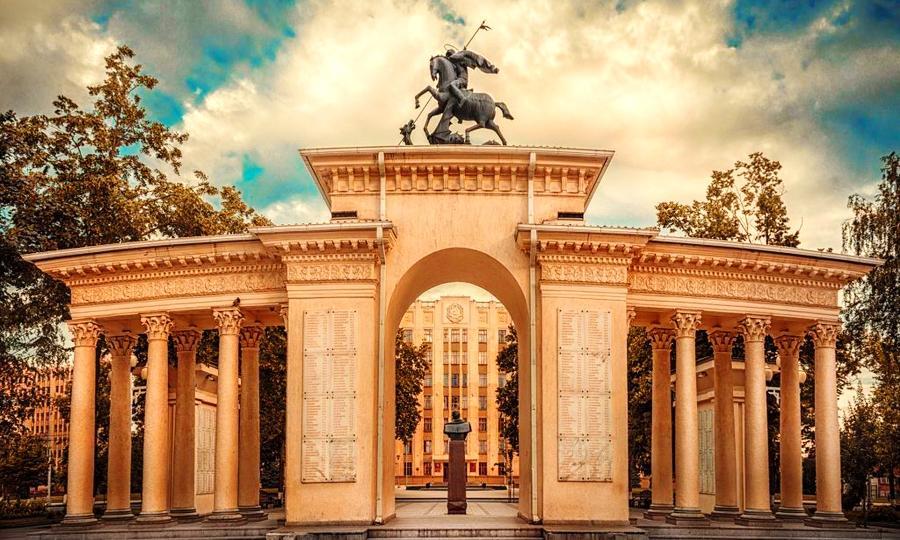 Арка в городе Краснодар