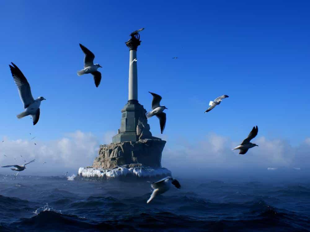 Город Севастополь в Крыму