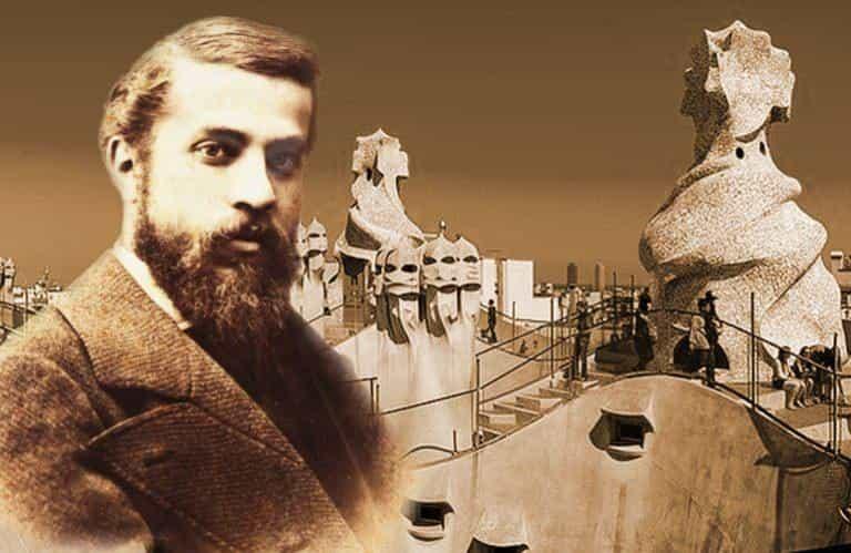 Архитектор Барселоны Антонио Гауди (портрет)