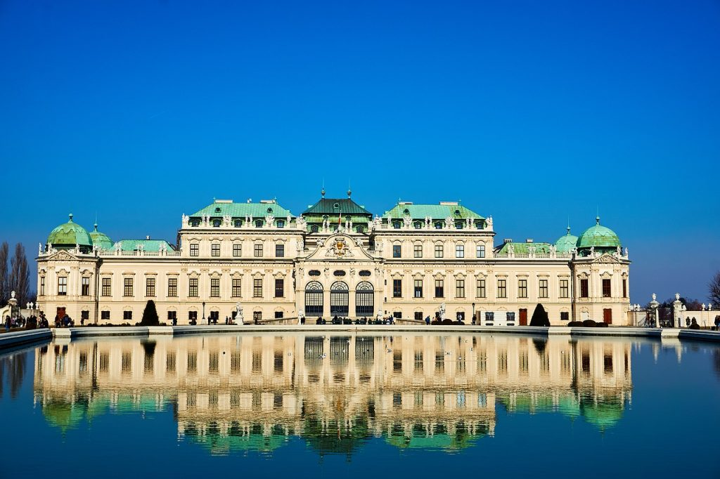 Величественный дворцовый комплекс Бельведер