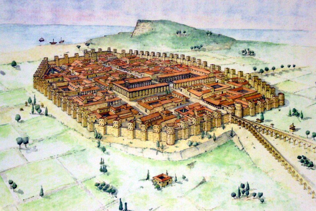 Исторический план города Барселона