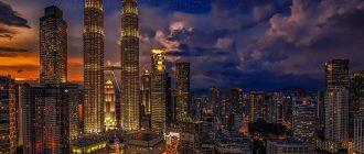На фото - башни-близнецы Петронас (Куала-Лумпур)