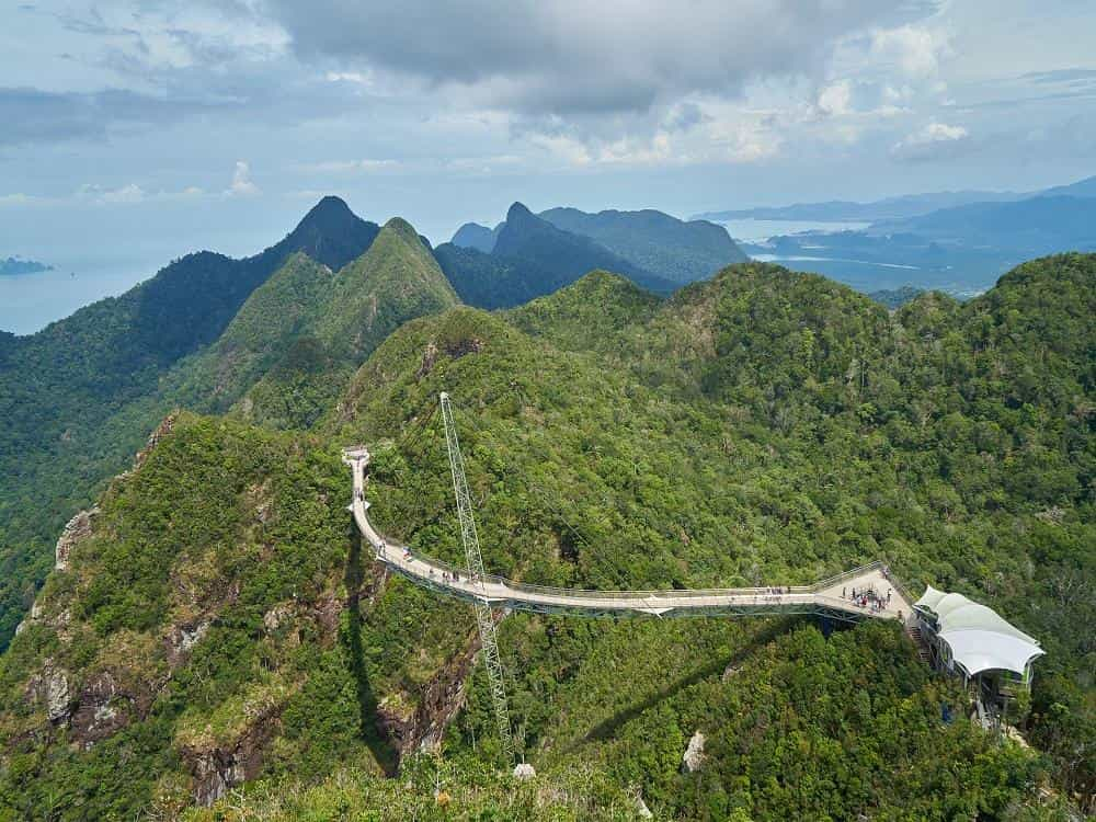 Небесный мост на острове Лангкави