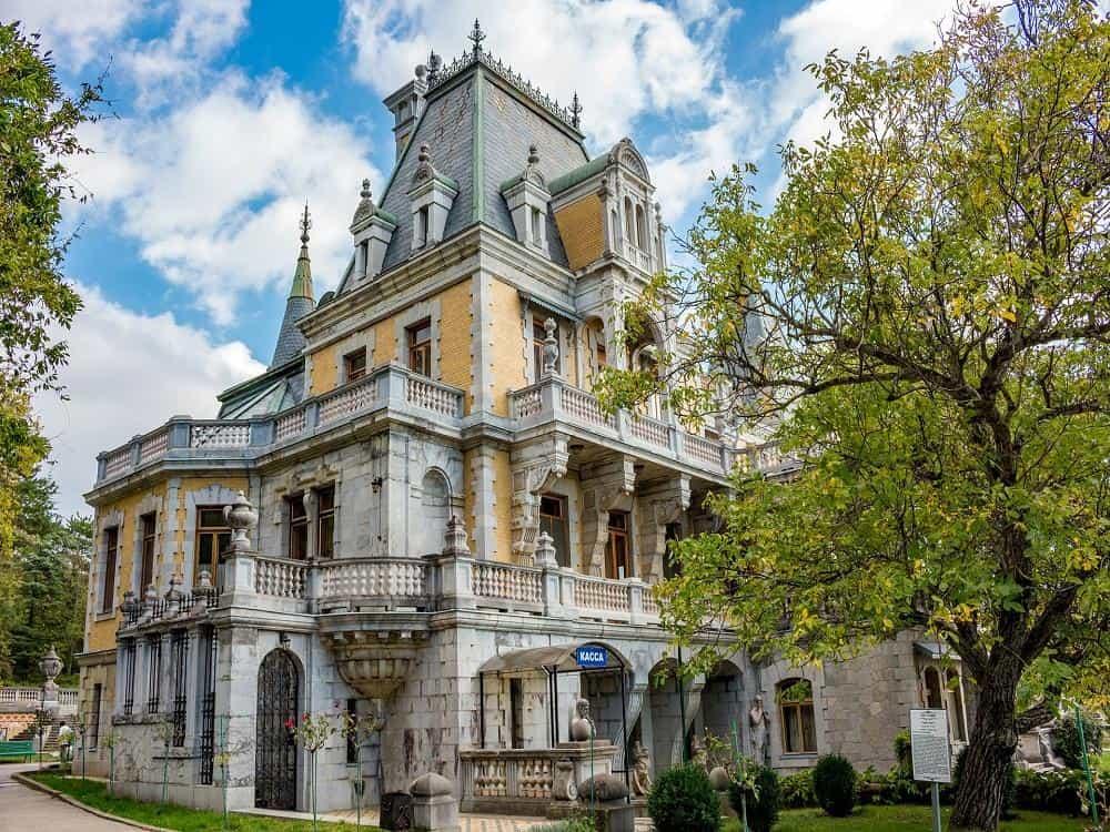 Ялта - дворец Массандра