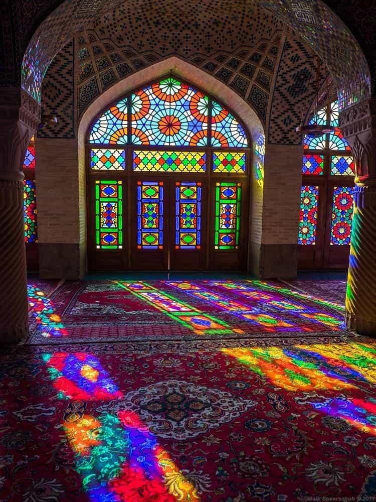 Мечеть Насир аль-Мульк, известная как Розовая мечеть