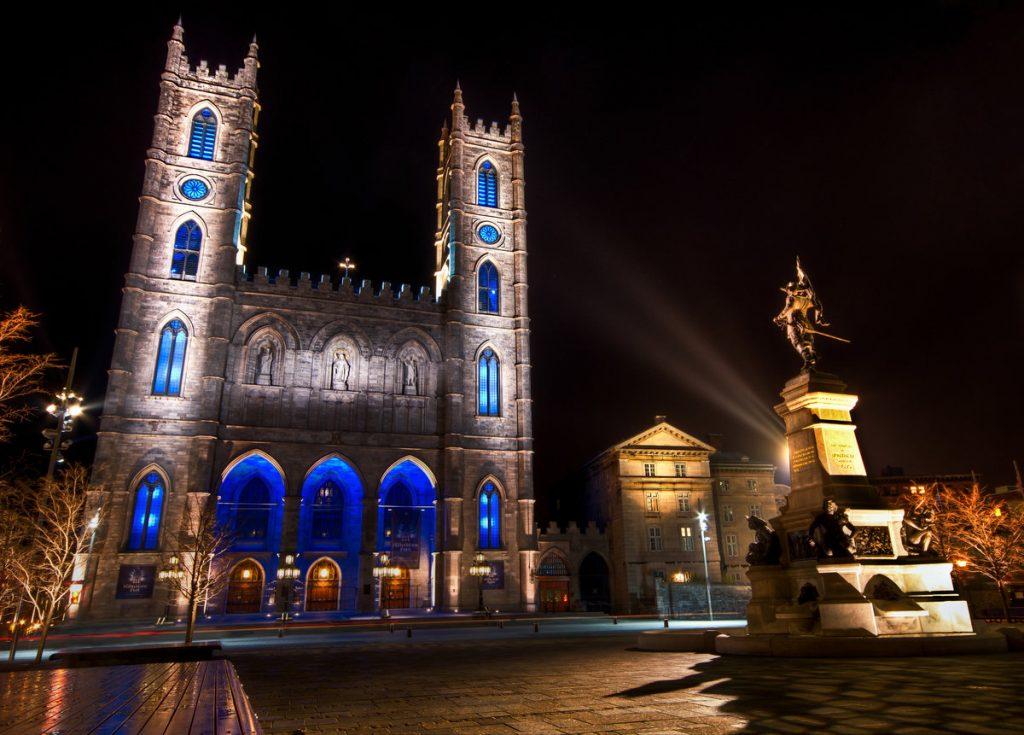 Монреальский собор Нотр-Дам в Канаде