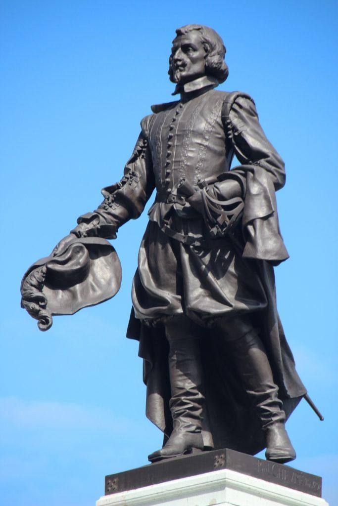 Самюэль де Шамплен (1567-1635). Участвовал в колонизации Акадии