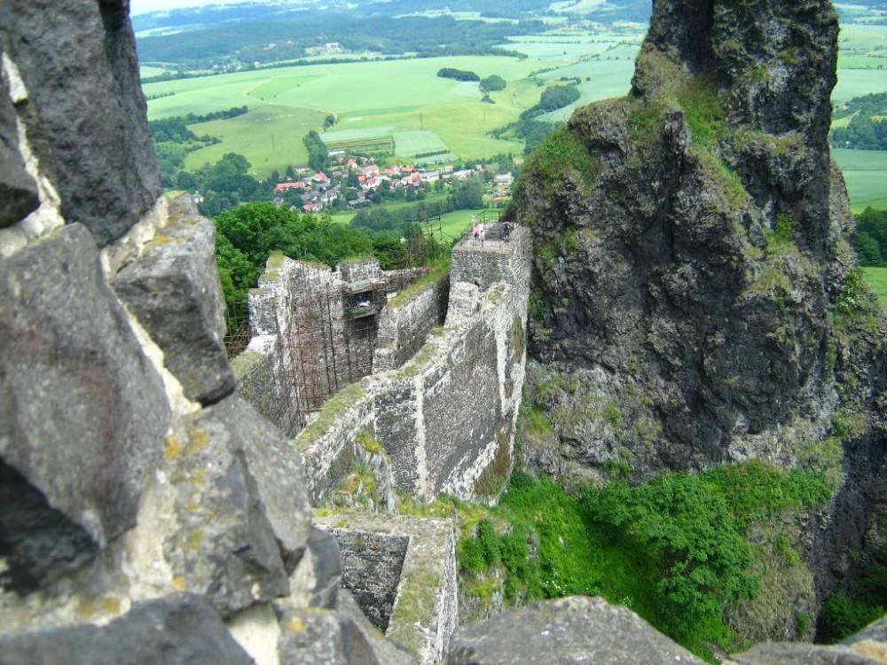 Крепость Троски в Чехии