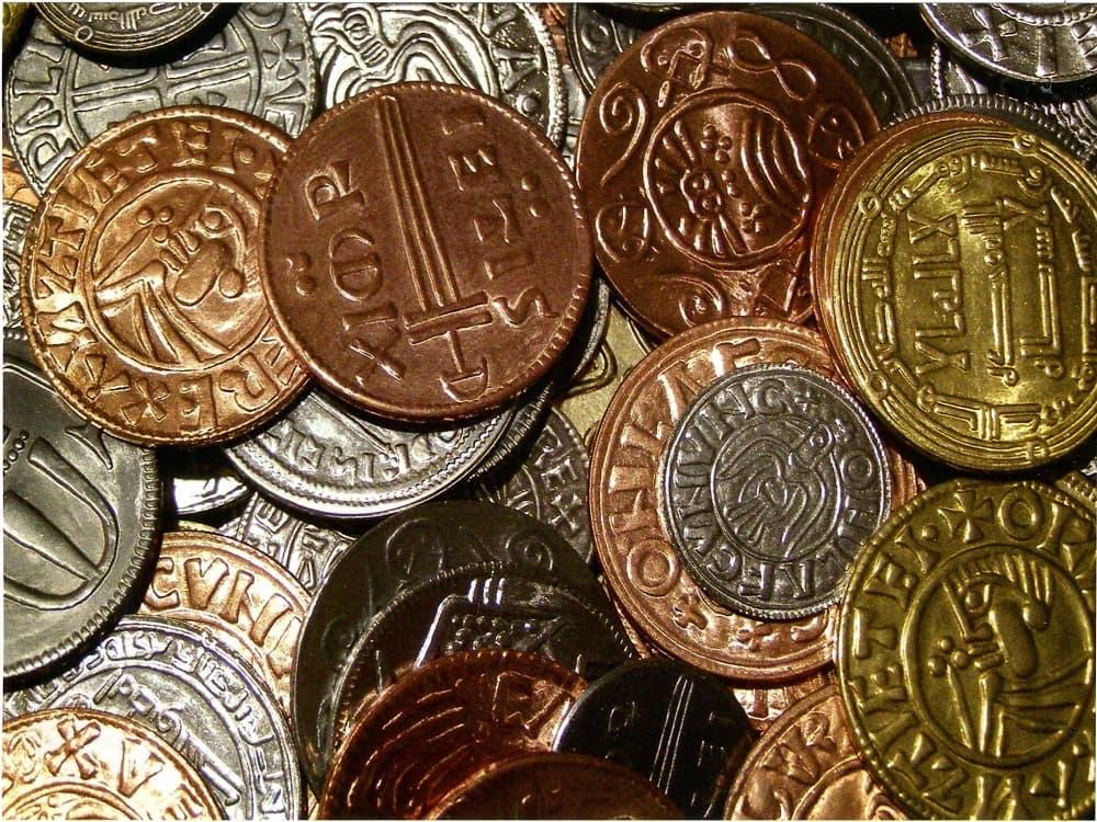 Древние монеты викингов