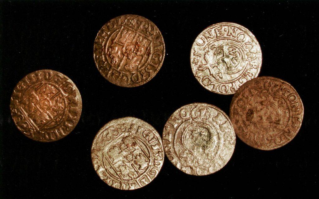 древние монеты, обнаруженные в Украине с помощью металлоискателя