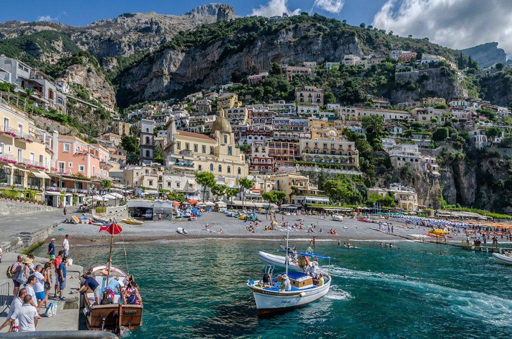 Позитано в Италии