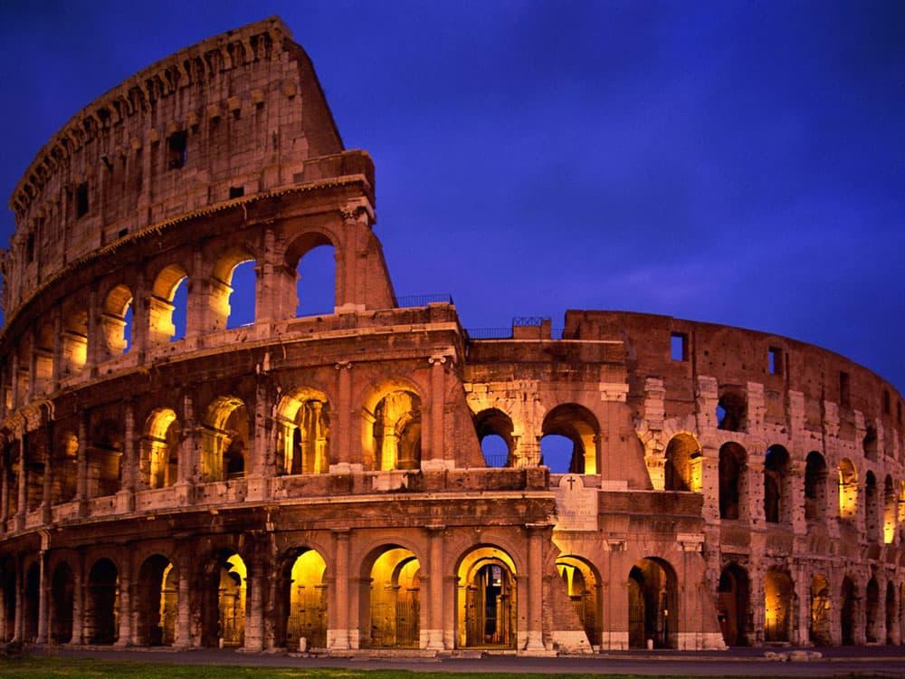 Страна Италия, Рим