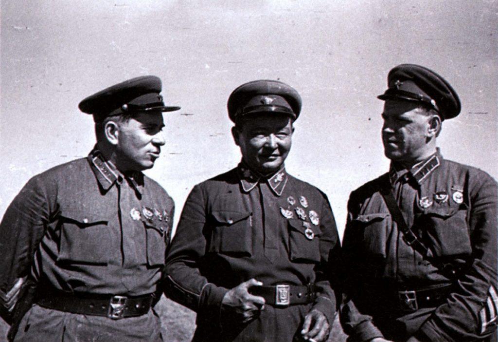 На командном пункте Хамар-Даба
