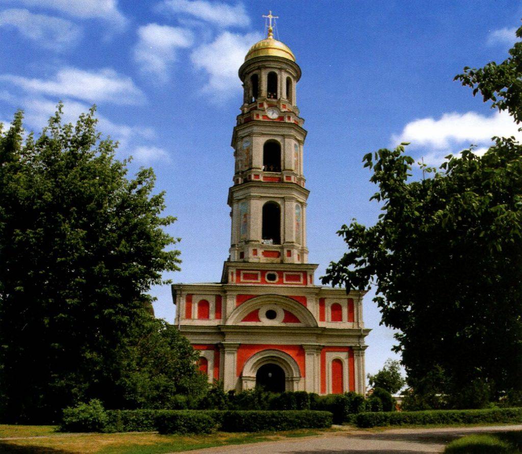 колокольня Свято-Вознесенского Ново-Нямецкого монастыря в Кицканах