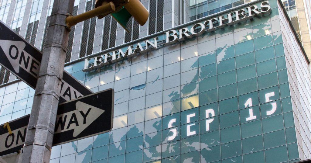 Фото банка Lehman Brothers