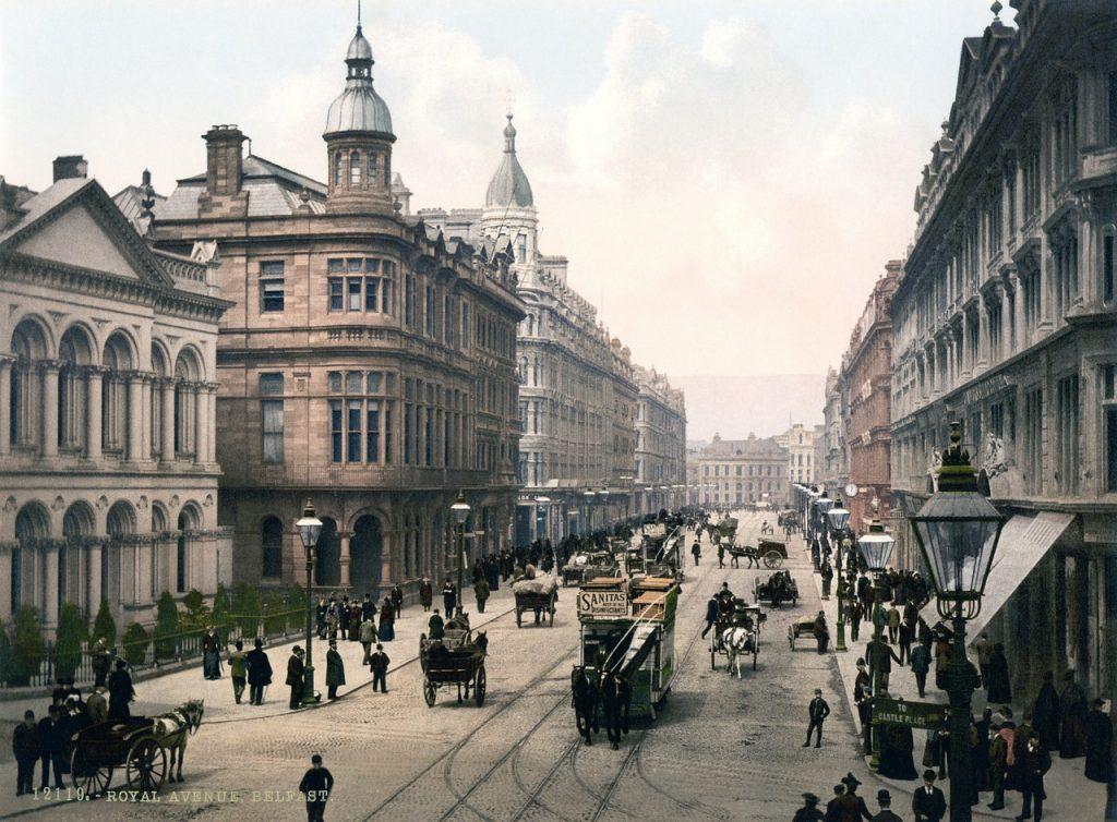 Белфаст-столица Северной Ирландии, которая входит в состав Соединенного Королевства Великобритания