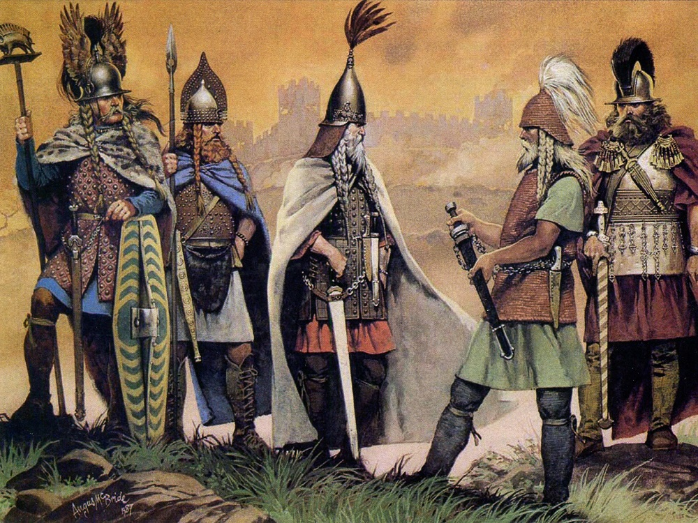 Варварские королевства