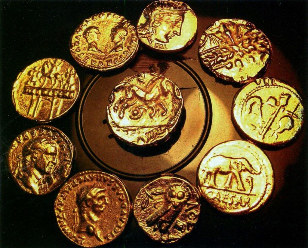 Греческие и римские поддельные монеты