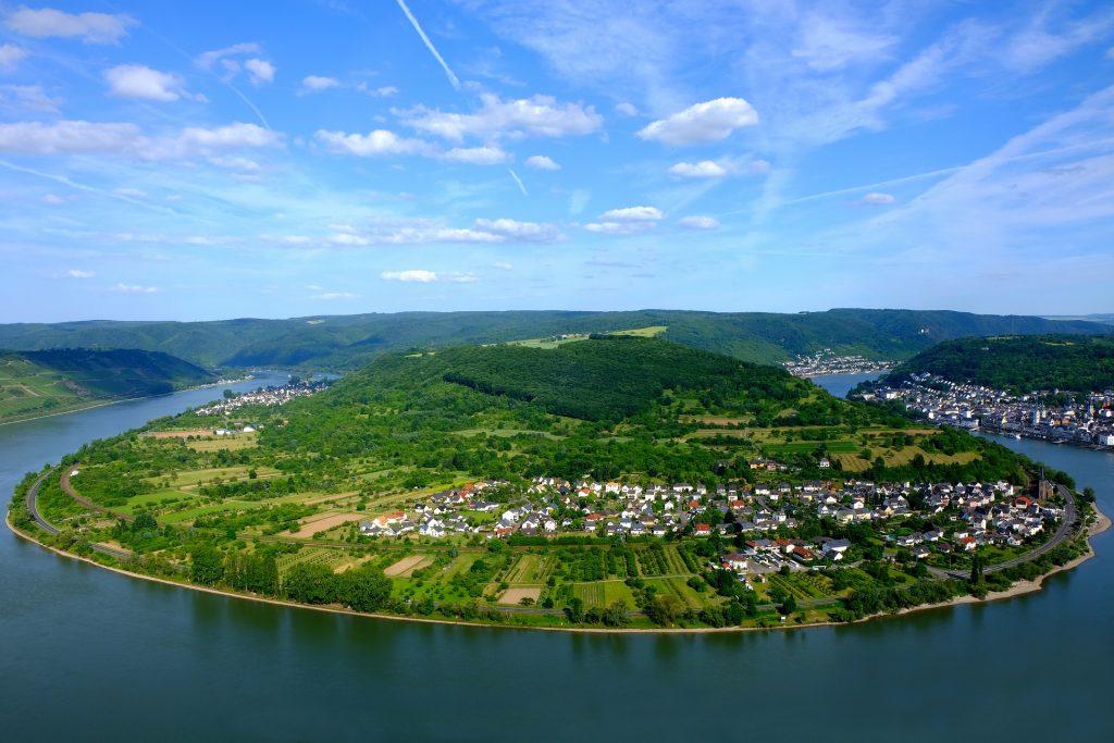 Река Рейн в Германии
