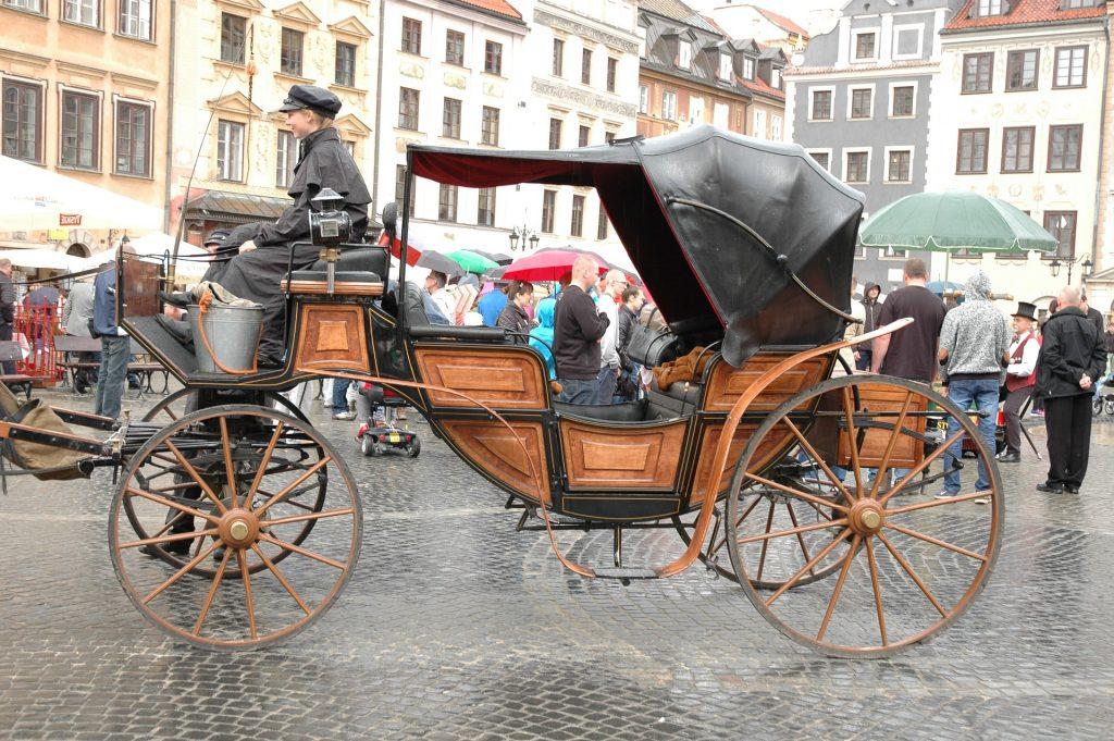 Варшава - туристы