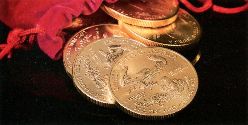 Ценные монеты - Американский золотой орел