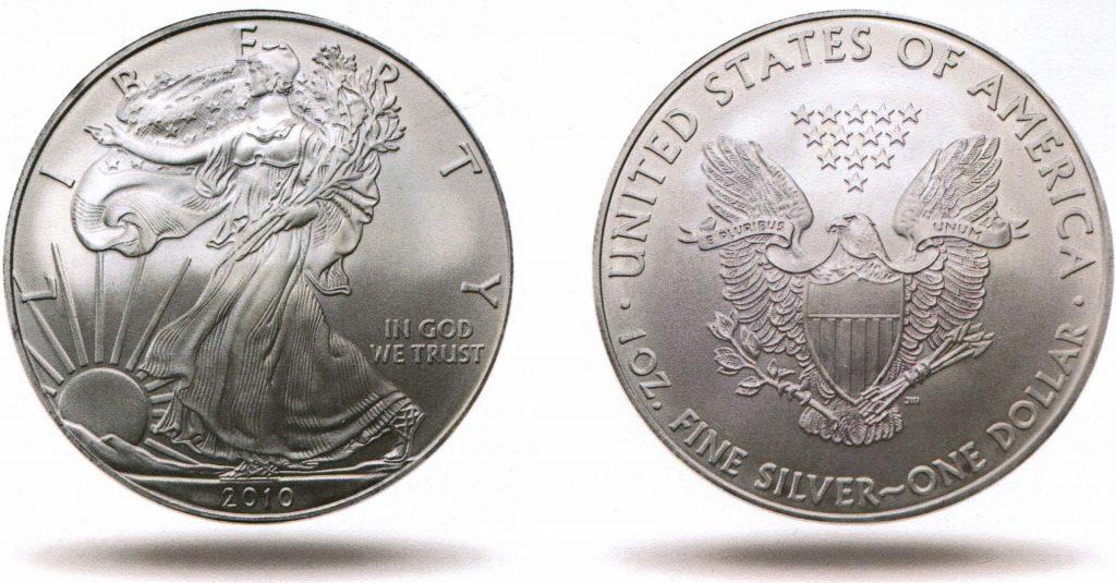 Ценные монеты - Американский серебряный орел
