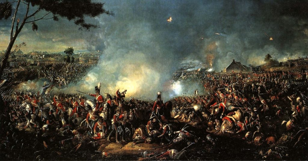 Банковские ограничения - Битва при Ватерлоо в 1815 году