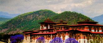 Крепость Пунакха-дзонг