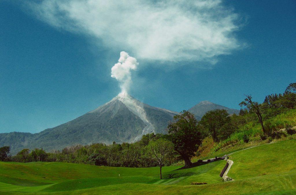 Вулканы в Гватемала