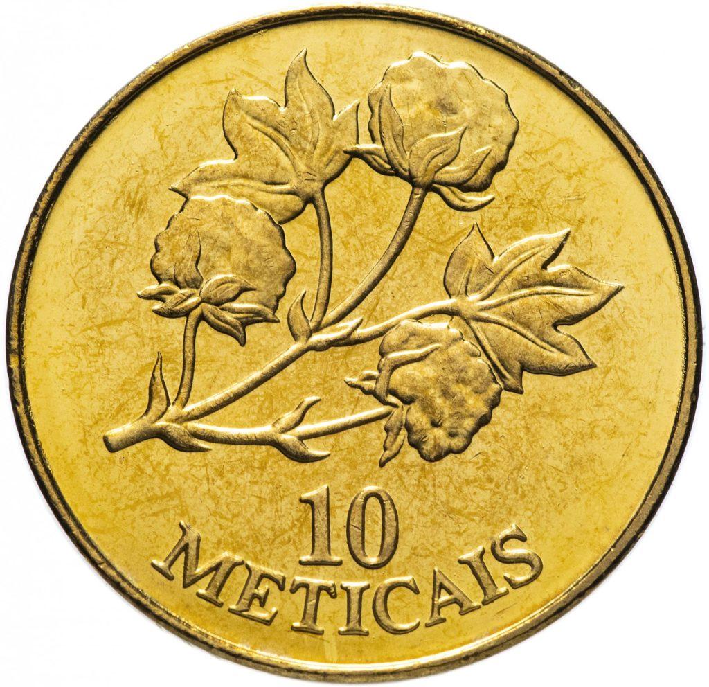 10 метикалов