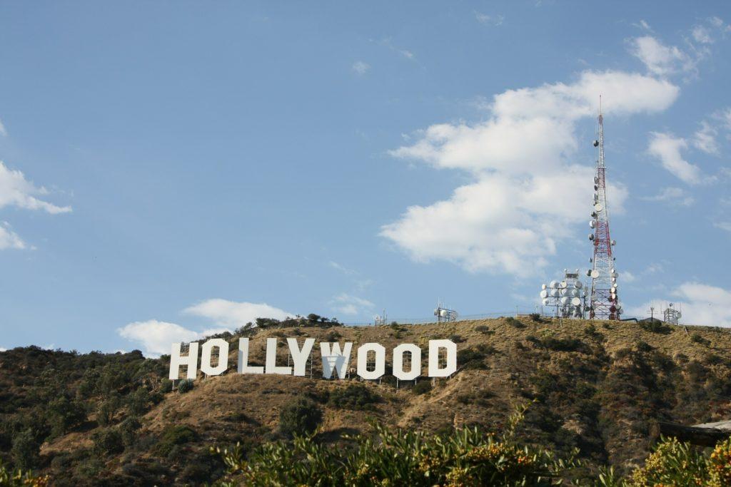 Лос-Анджелес - район Голливуд