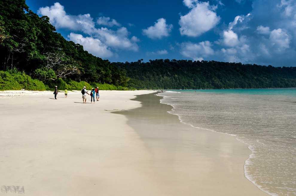 Индия: Андаманские Острова, пляж Радханагари