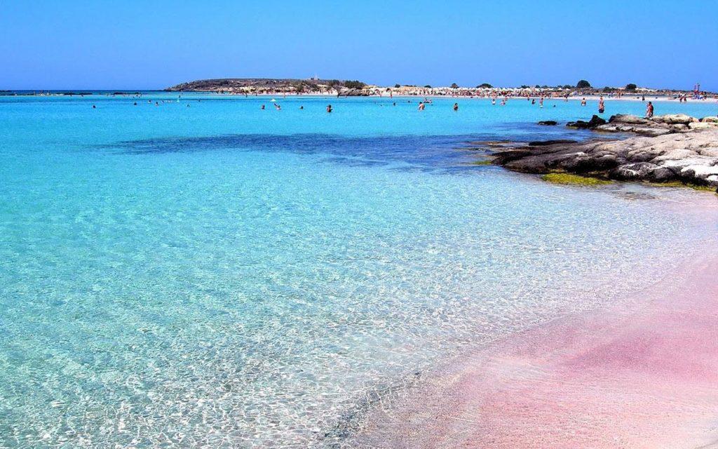 Греция: остров Крит, пляж Элафониси