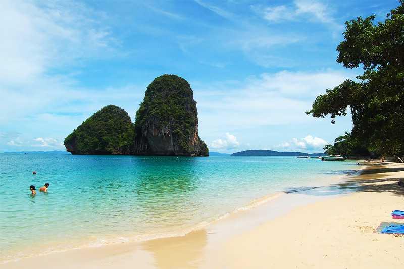 Таиланд: остров Краби, пляж Рейли Бич