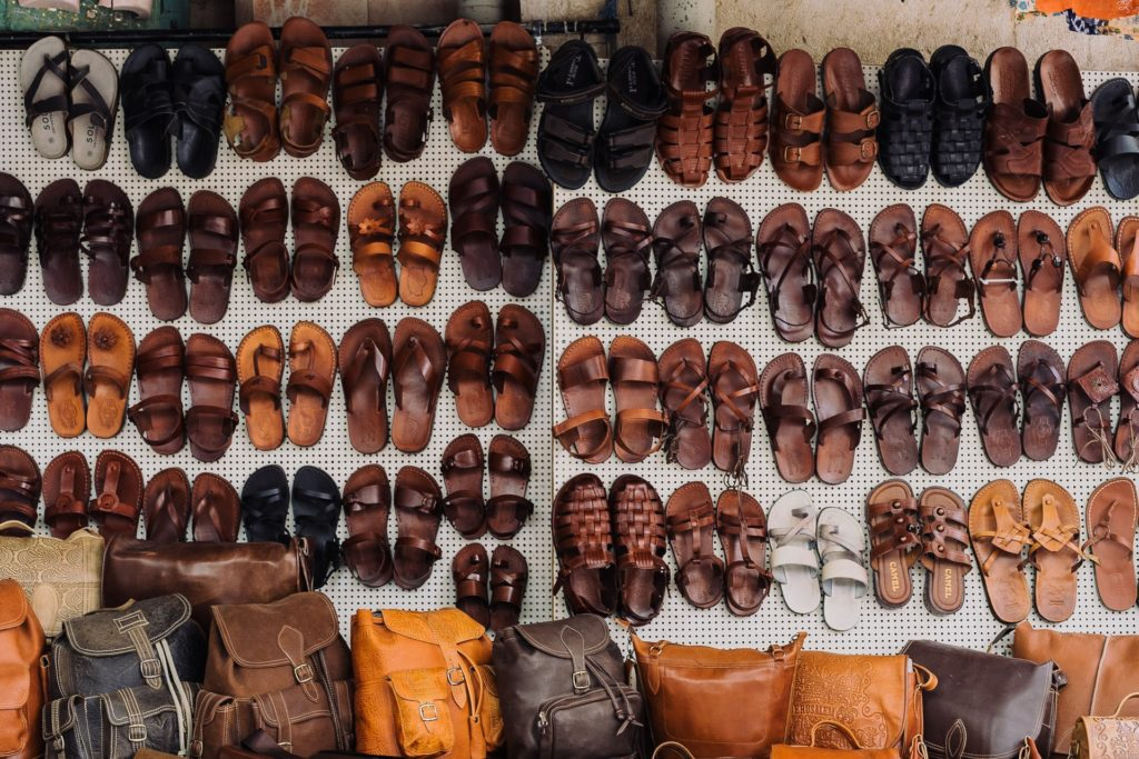 сандалии для путешествий