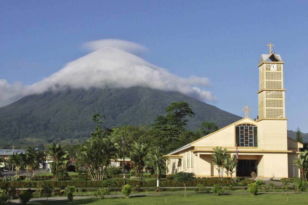 Вулкан в Коста-Рика