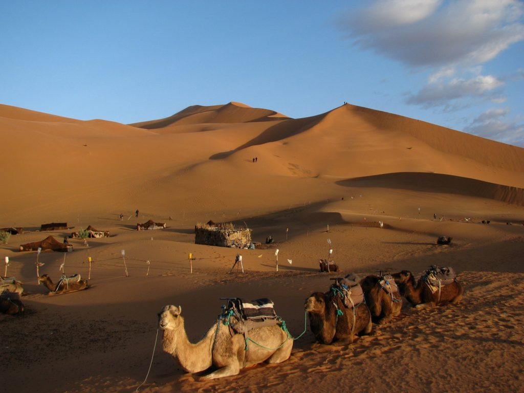 Марокко - пустыня Сахара