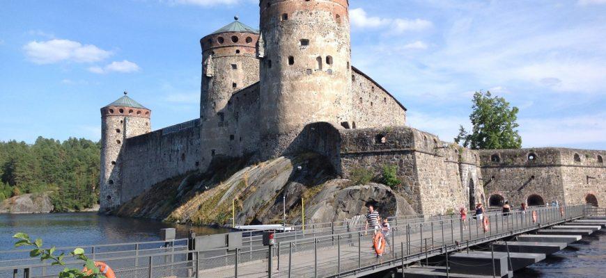 Крепость Олавинлинна